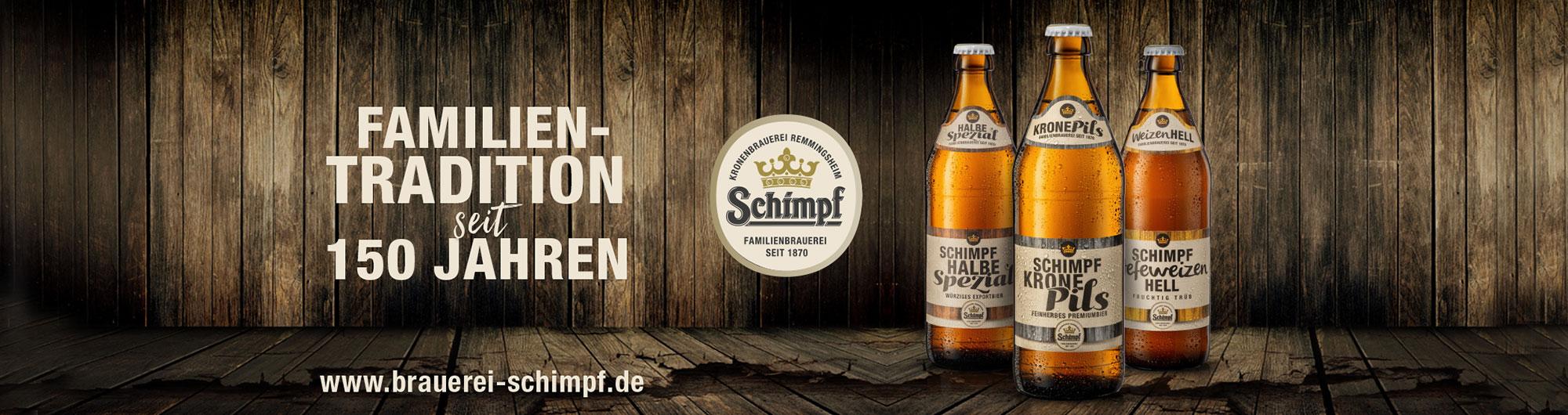 Schimpf - Das Bier von Hier   GEFAKO